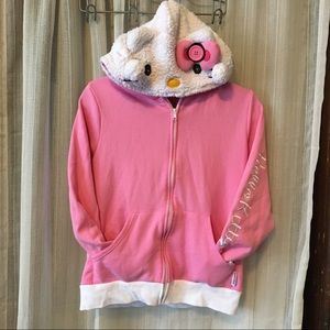 Hello Kitty Hoodsbee Hoodie/Pillow